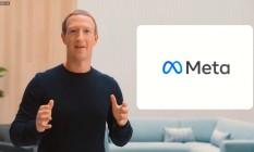 Mark Zuckerberg apresenta novo nome da empresa: Facebook Inc. passa a se chamar 'Meta' Foto: Reprodução/Connect