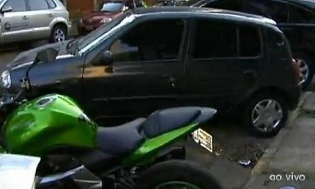 Quadrilha presa em SP roubava e revendia carros de luxo - Reprodução TV Globo