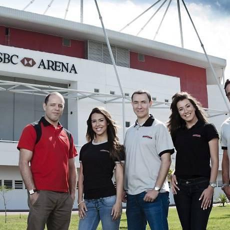 A equipe de transmissão do canal Combate (foto: divulgaçãoFabricio Mota)