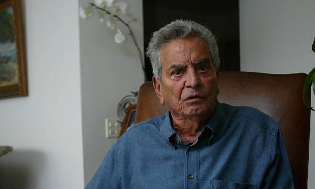 O ex-governador e um dos caciques do PSDB no Rio, Marcello Alencar, em foto de arquivo do GLOBO