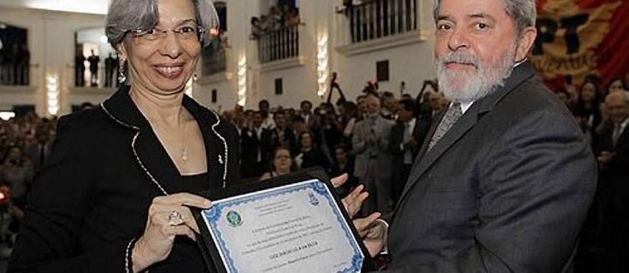 Lula recebe título de Doutor Honoris Causa na Universidade federal da Bahia. Foto: divulgação