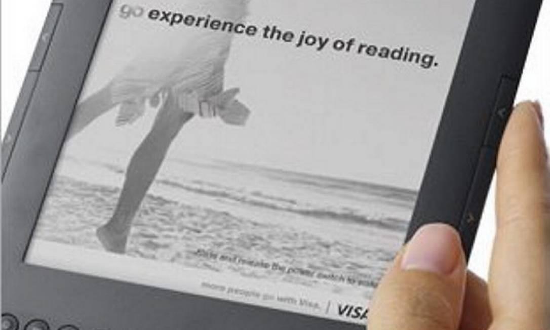 Kindle Foto: Divulgação