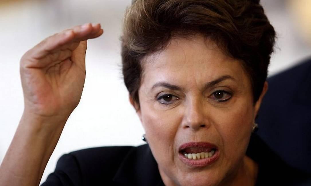 A presidente Dilma Rousseff em foto de Gustavo Miranda