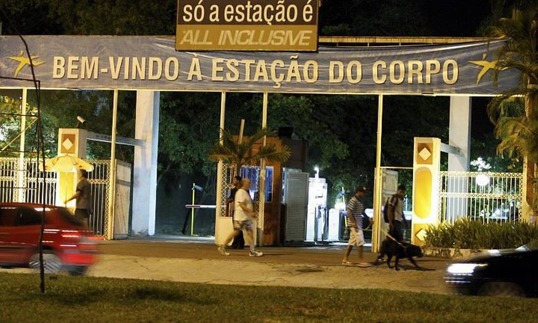 A fachada da academia: retomada deverá ocorrer em setembro de 2013 (Foto: Marcos Tristão Agência O Globo)