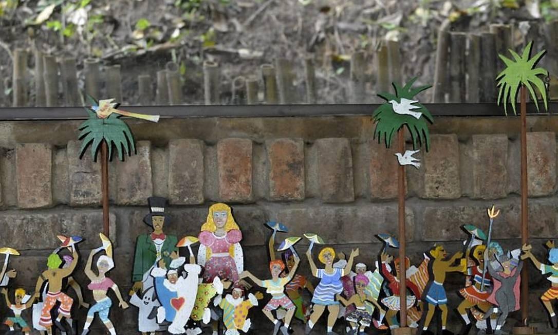 Decoração do Beijupirá, inspirada no carnaval de Olinda Foto: Leo Caldas