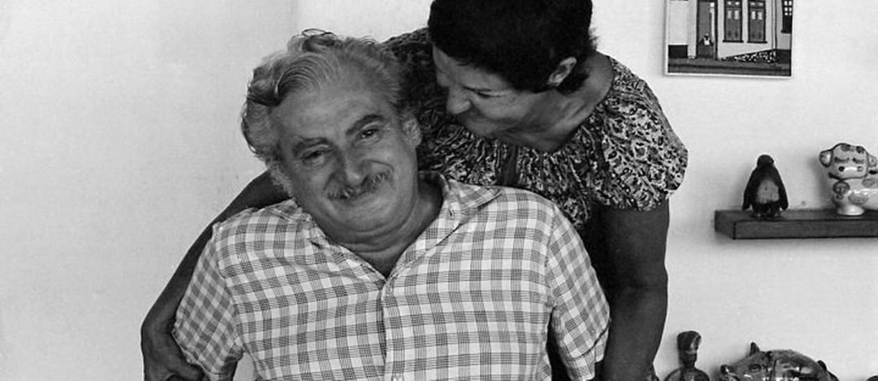 Jorge Amado e Zélia Gattai Foto Divulgação