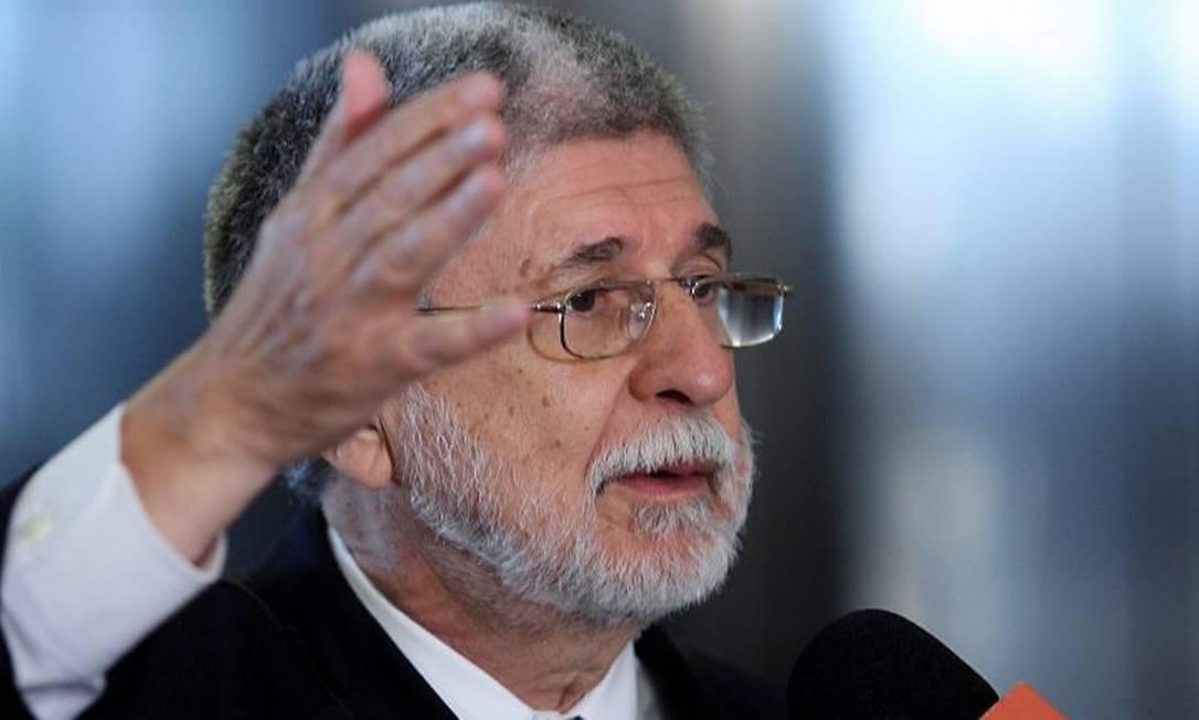 O novo ministro da Defesa, Celso Amorim , em foto de Gustavo Miranda