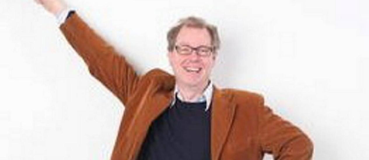 Peter Lovatt, ex-dançarino profissional, disléxico e com doutorado em Psicologia pela Universidade de Cambridge. Foto de divulgação