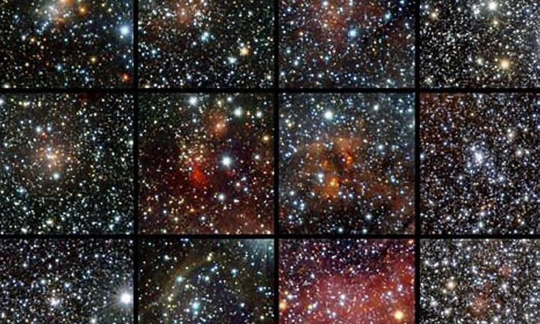 Encontrado o maior número de aglomerados estelares abertos da Via Láctea Foto: ESO