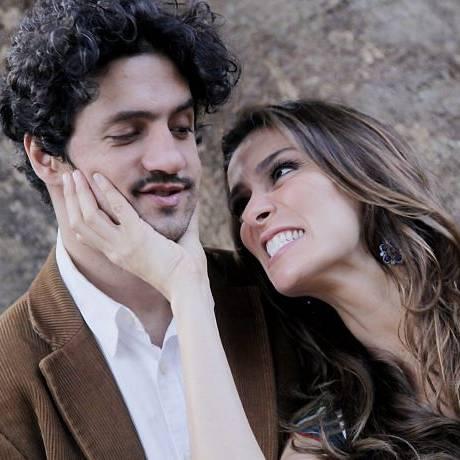 Mônica Martelli e Fernando Alves Pinto