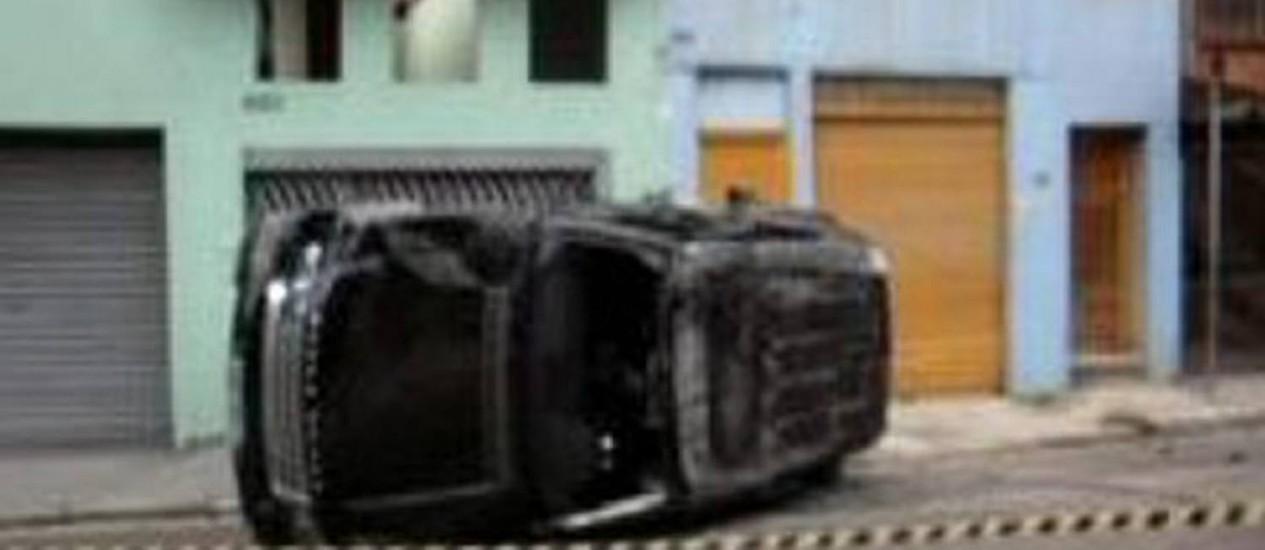 Land Rover dirigida por nutricionistas tinha 26 multas, 10 delas por excesso de velocidade - ReproduçãoTV Globo