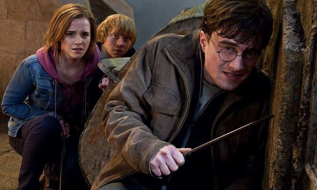 Cena de Harry Potter e as Relíquias da Morte 2 Foto: Divulgação