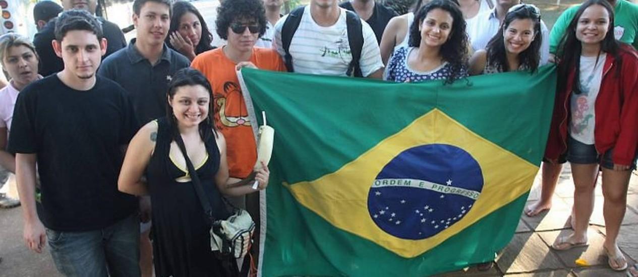 Estudantes se reúnem em Goiânia para congresso da UNE. Fot: Givaldo Barbosa