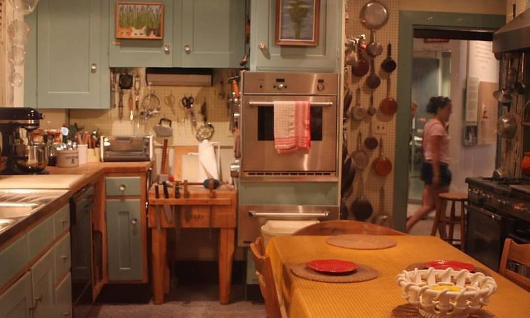 A cozinha de Julia Child, reproduzida no Museu da História Americana Foto: Bruno Agostini / O Globo