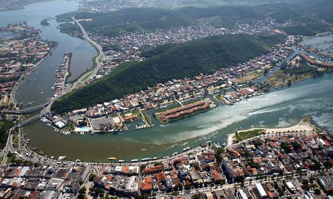 Canal do Itajuru, que liga lagoa ao mar, receberá menos detritos Foto: Divulgação Ernesto Galiotto