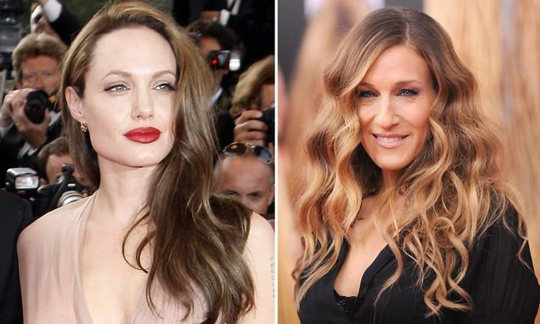 e4a1f52da5087 Angelina Jolie e Sarah Jessica Parker são as atrizes mais bem pagas ...