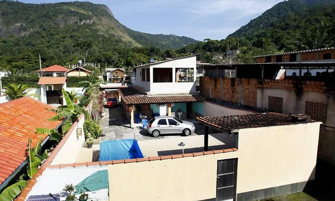Casas em Camorim, o bairro que teve maior crescimento no Rio. Foto de Pablo Jacob
