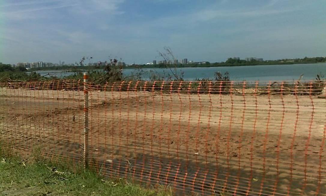 Eu-Repórter: Desmatamento para abertura da Transcarioca causa preocupação na Barra. Foto do leitor Marcus Ernani