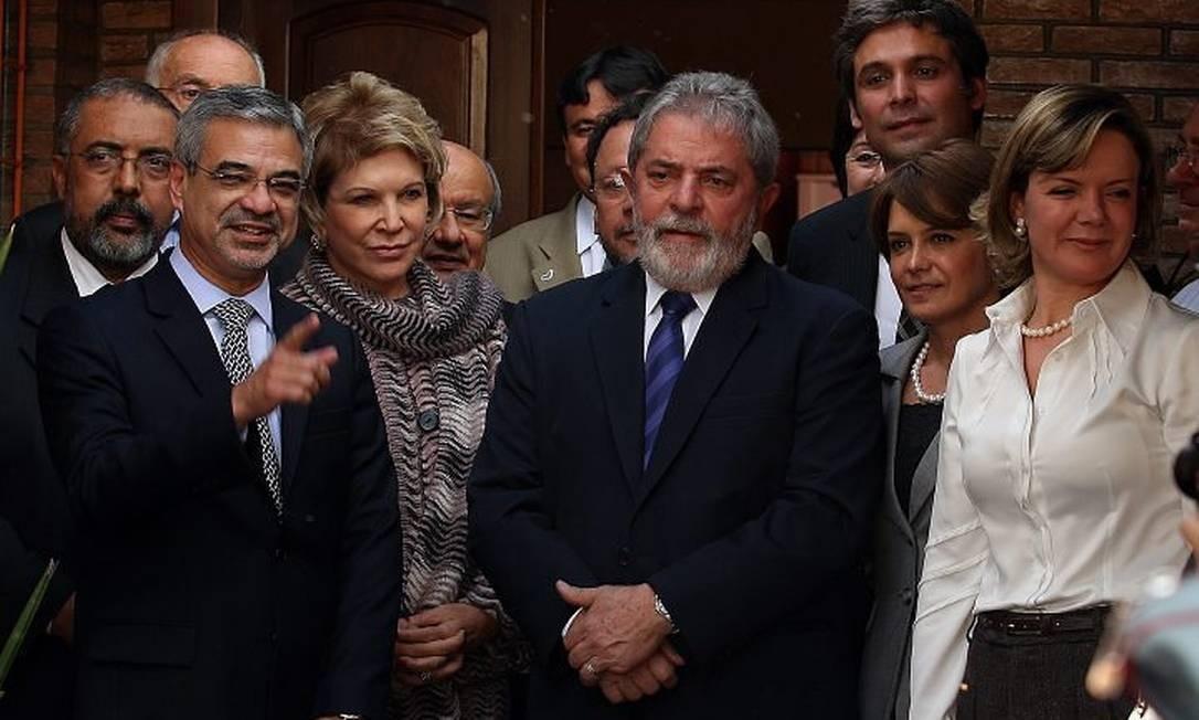 Ex-persidente Lula reunido com senadores petistas em BrasíliaFoto de Aílton de Freitas