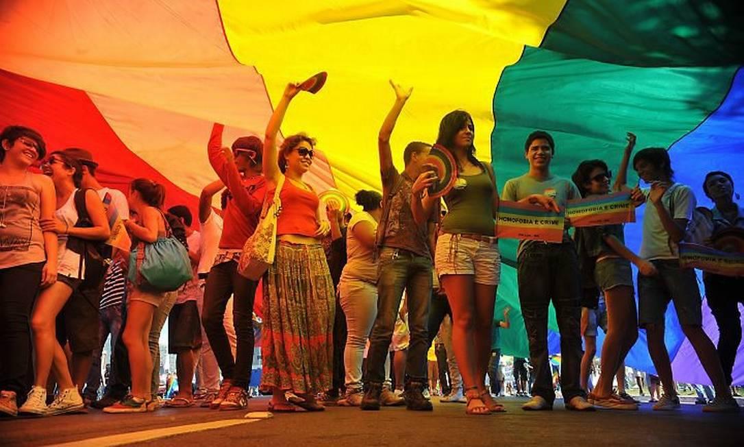 Marcha contra a Homofobia reúne cinco mil em Brasília. Foto: Agência Brasil