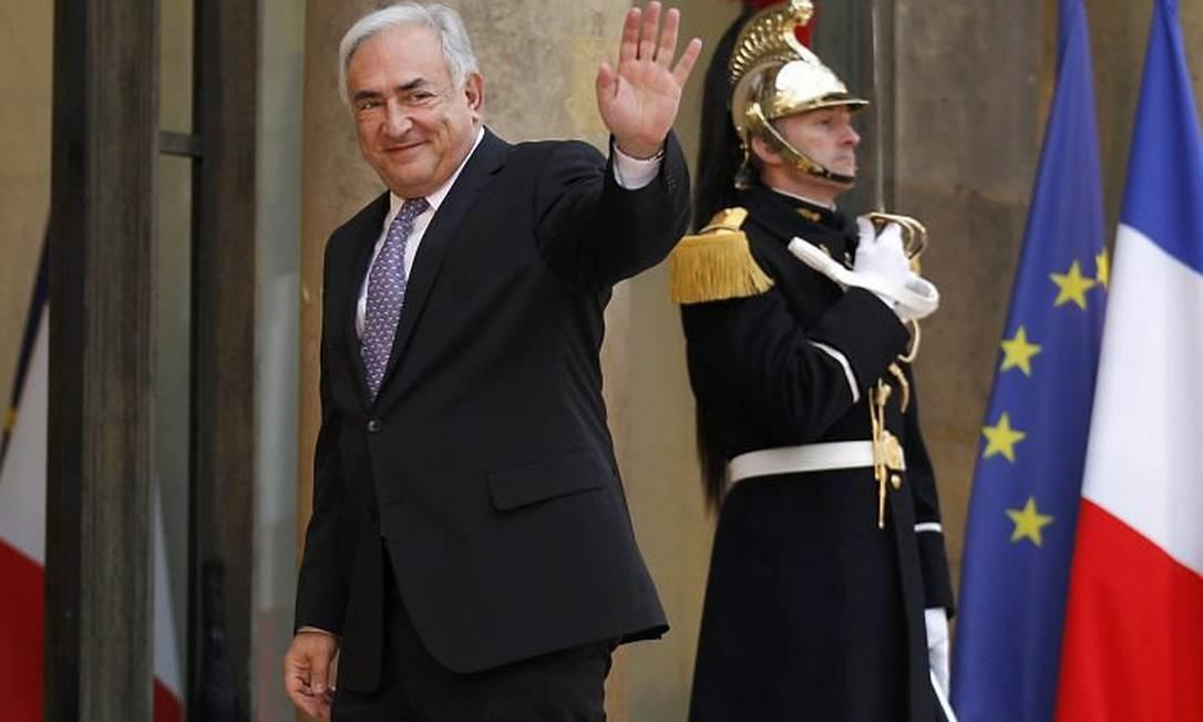 O diretor do FMI, Dominique Strauss-Kahn, em foto de arquivo - Reuters