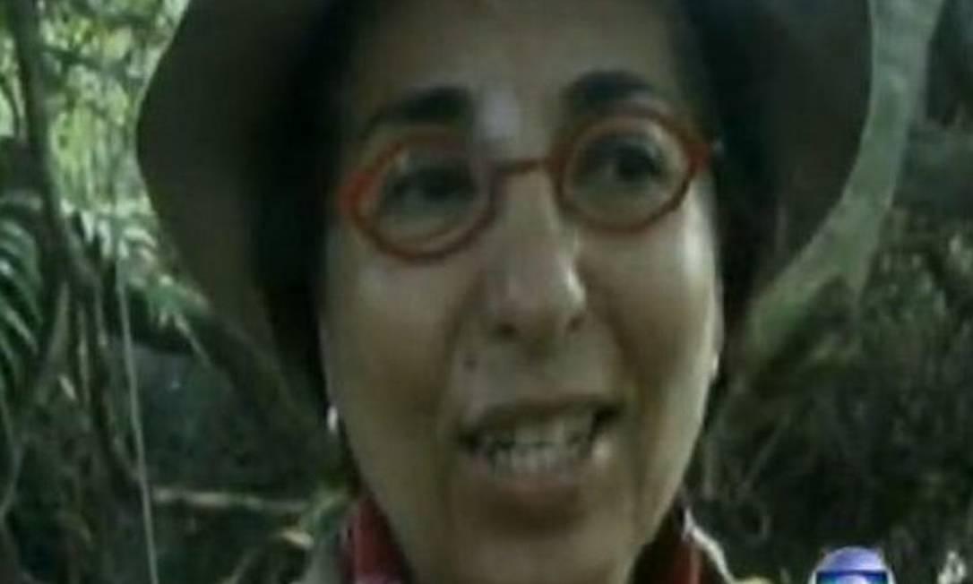 A pecuarista Beatriz Rondon - Reprodução TV Globo