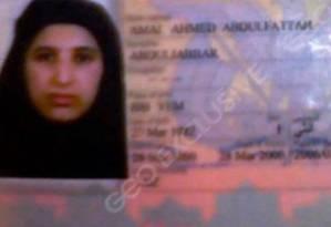 Uma careira de identificação de Amal al-Sadah, viúva de Bin Laden Foto: Reprodução