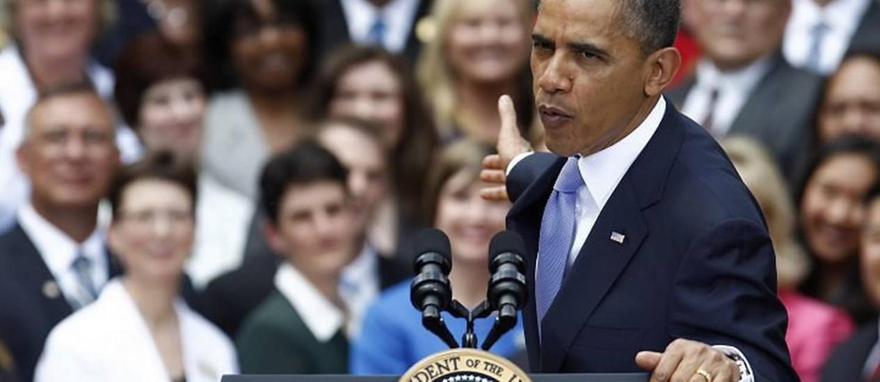 Obama em ato oficial em Washington Reuters