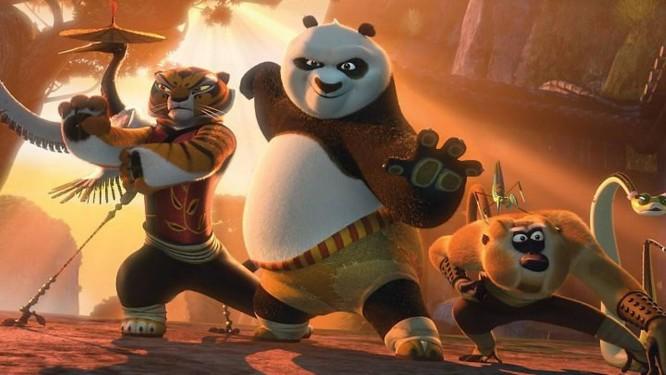 Cena do filme 'Kung Fu Panda 2' Foto: Divulgação