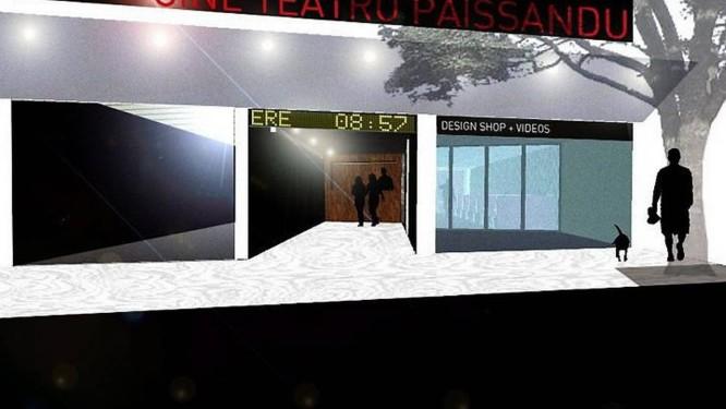 Imagens do projeto de reforma do Cine Paissandu, no Flamengo Divulgação