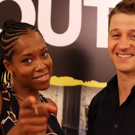 Os atores vieram ao Brasil para divulgar a série em São Paulo e curtir alguns dias de folga no Rio