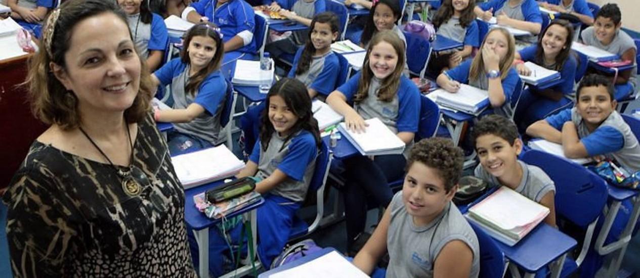 Curso preparatório para ingresso em escolas públicas de qualidade Foto: Gustavo Stephan