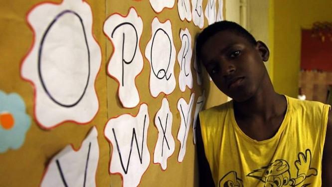 Vanderson da Silva, 15 anos, aluno copistaFoto de Custódio Coimbra