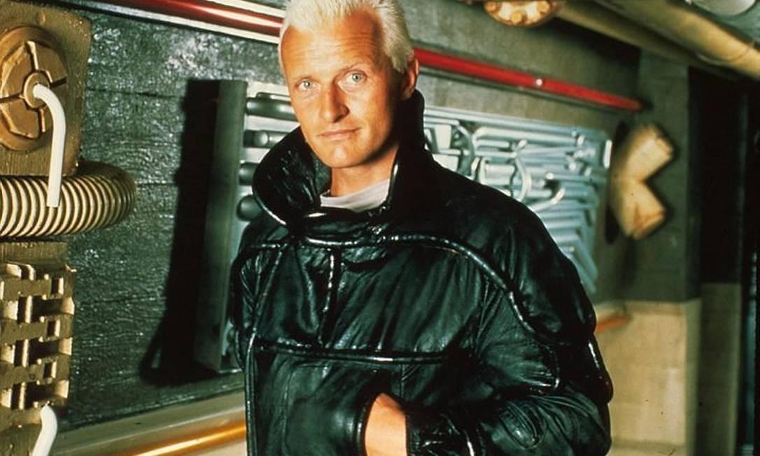 Rutger Hauer em 'Blade Runner' Foto Divulgação