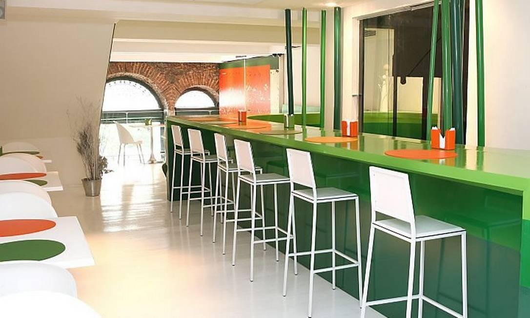 Casarão 1881, restaurante que funciona num prédio tombado que foi reformado, no Centro do Rio Foto: Divulgação