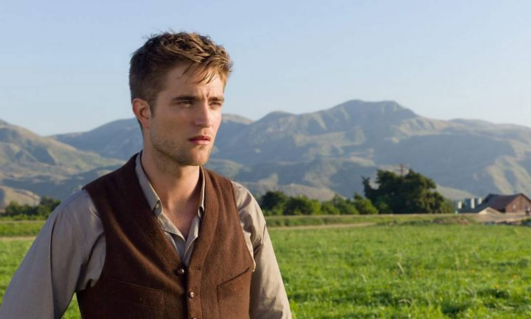 O ator Robert Pattinson no filme 'Água para elefantes' Divulgação