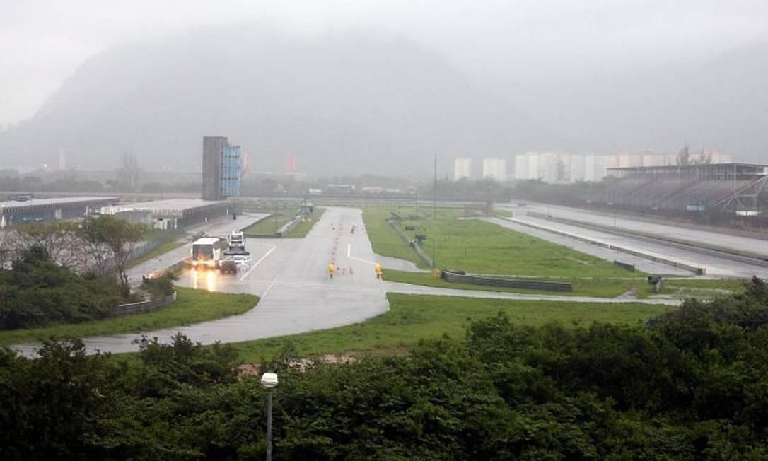 Autódromo Nelson Piquet, em Jacarepaguá Foto de Marcelo Carnaval O GLOBO