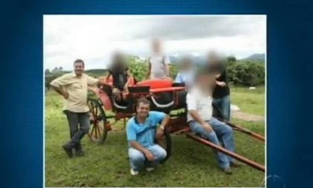 Vítimas levaram tiros nos olhos e na nuca - Reprodução TV Globo
