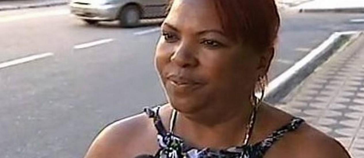 Cabeleireira foi interceder em briga e acabou ofendida - ReproduçãoTV Globo
