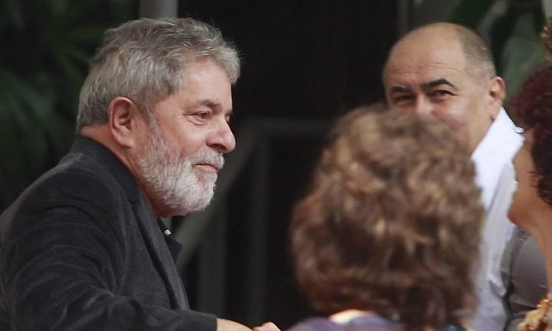 Lula durante encontro com petistas. Foto: Marcos Alves