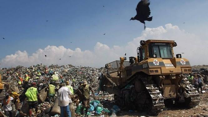 Desativação do aterro sanitário de Gramacho (Foto: Gabriel de Paiva Agência O Globo)