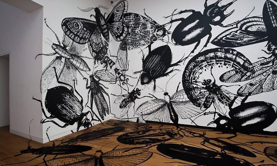 Obra de Regina Silveira na Fundação Iberê Camargo - Foto Divulgação