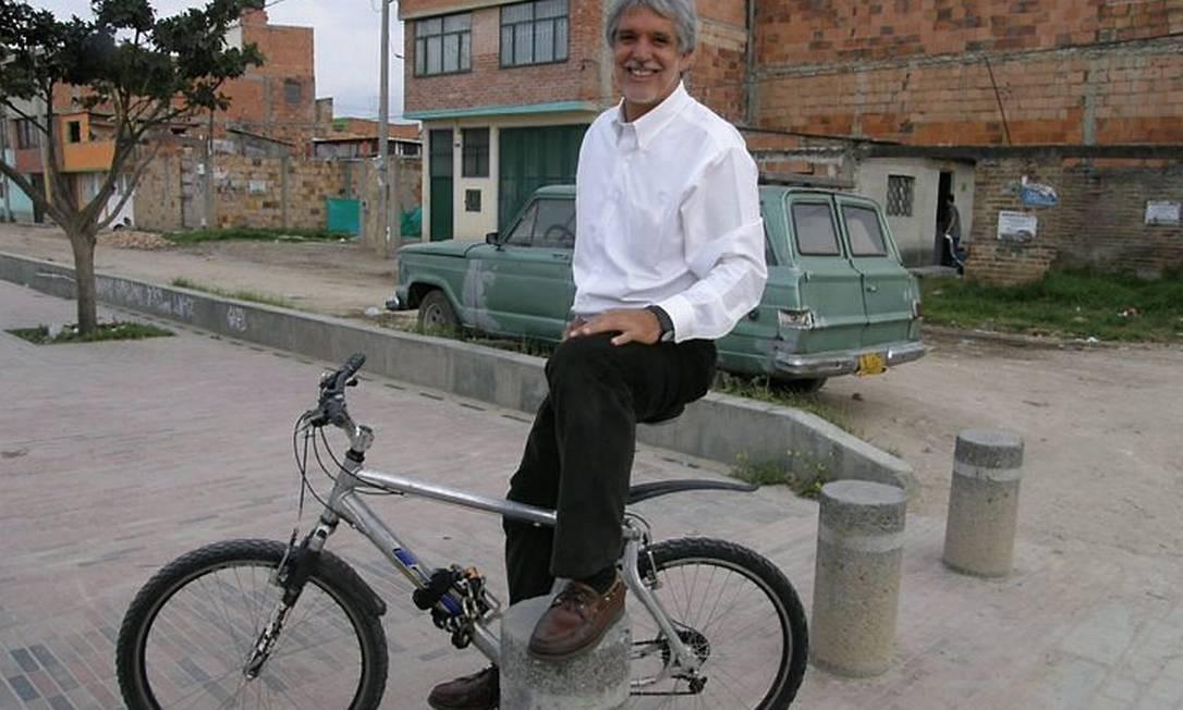 Enrique Peñalosa, ex-prefeito de Bogotá, na Colômbia