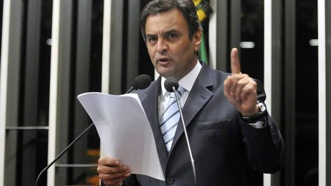 O senador Aécio Neves (PSDB-MG) em foto de arquivo - Agência Senado