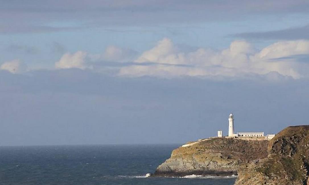 Vista da ilha de Anglesey, onde o príncipe William e Kate Middleton vão morar depois do casamento.