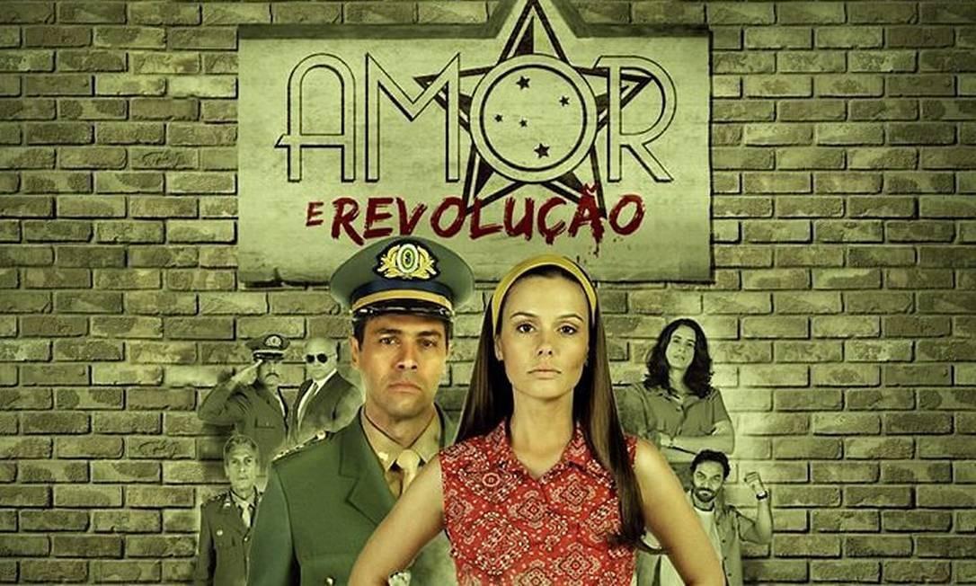 Elenco da novela Amor e revolução - Foto: Divulgação