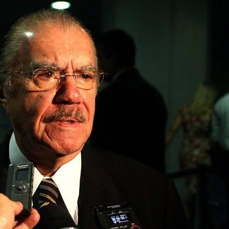 Presidente do Senado, José Sarney - Foto de arquivo: Ailton de Freitas
