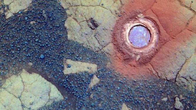 Pedra em Marte recebeu o nome de Yuri Gagarin Foto: NASA