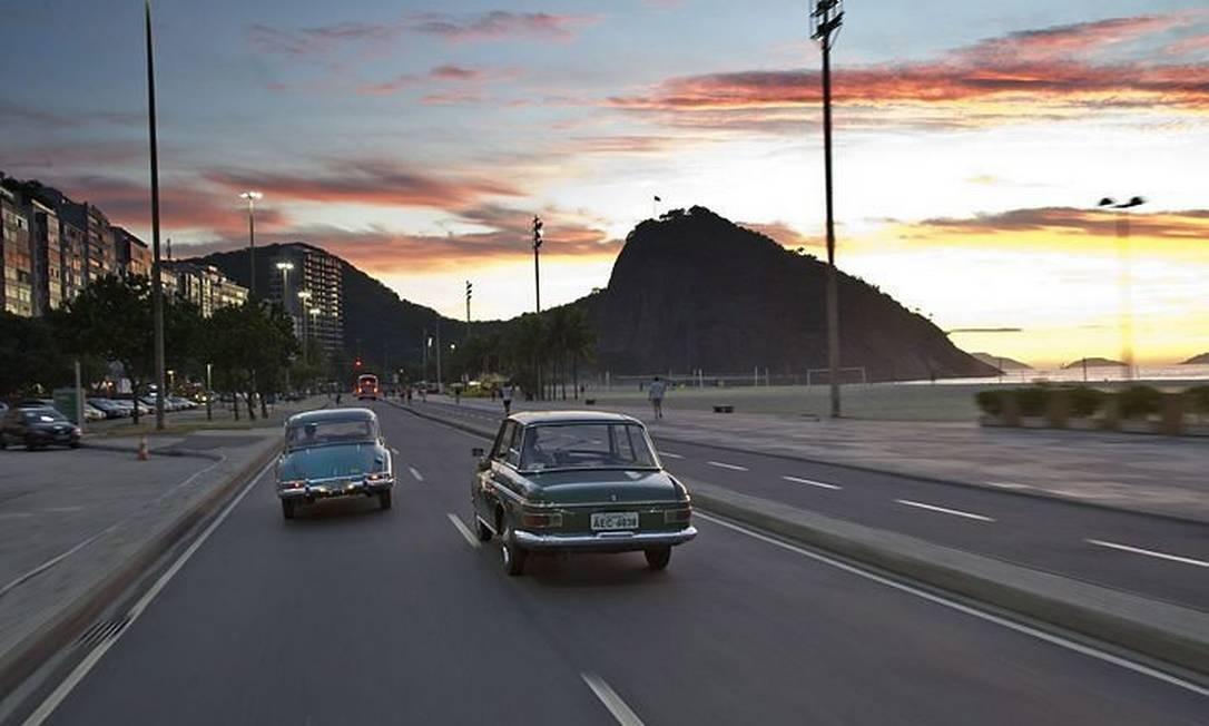 Dois DKW-Vemag com o Rio como cenárioStefan Warter