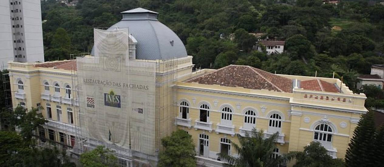 Instituto de surdos do Rio de Janeiro (Foto: Domingos Peixoto Agência O Globo)
